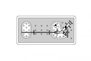 Контейнер для инструментов, для операционого телескопа