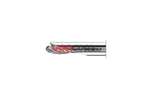 Бор овальный, боковая защита, одноразовый, 5,5 мм